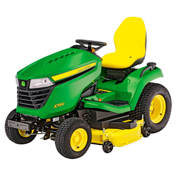 John Deere X590 Lawn Tractor with 48